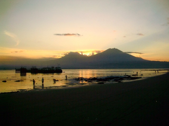 Sunset at Gilimanuk